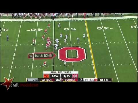 Chase Williams vs Ohio St. 2014 video.
