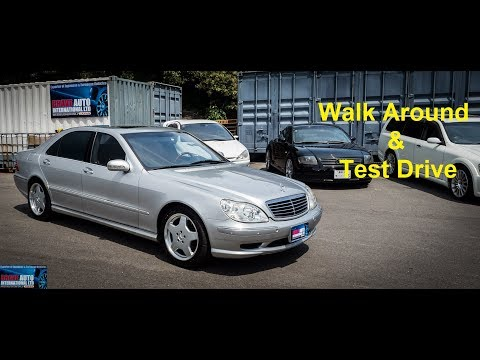 2000 Mercedes Benz S55L AMG | Japan Car Auction Purchase