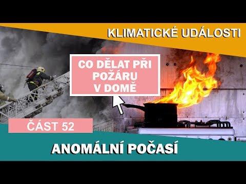 Аnomální počasí. Co dělat při požáru v domě. Klimatické události ve světě 25.2. - 3.3.2017 (52)