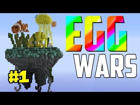 Minecraft Egg Wars (Yumurta Savaşları) Türkçe Bölüm 1 Kazanıyorduk