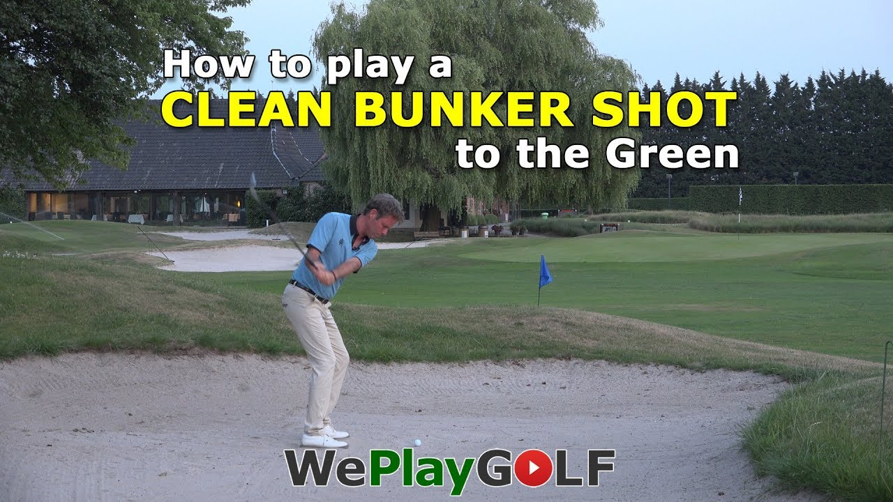 Tips on how to play a clean 40 meter bunkershot to the green?