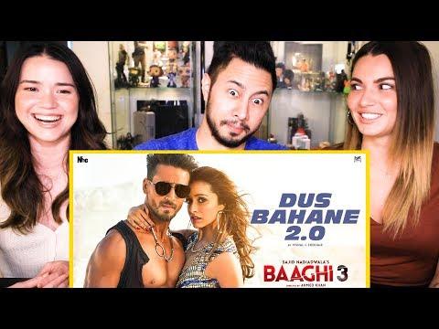Video BAAGHI 3: DUS BAHANE 2.0 | Vishal & Shekhar FEAT. KK, Shaan & Tulsi Kumar | Music Video Reaction download in MP3, 3GP, MP4, WEBM, AVI, FLV January 2017