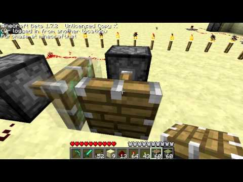 Minecraft infinite diamond generator with pistons (no longer works)