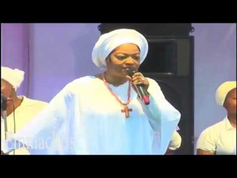 Queen And Propetess Naomi Ogunwusi Powerful Ministration At Her Crusade At Ikere Ekiti