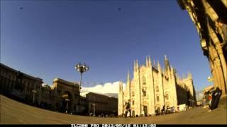 Time lapse of Piazza del Duomo by Brinno TLC200Pro