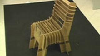 Картонный стул своими руками