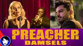 "JESSIE discovers HERR STARR - PREACHER 2x03 Review!Please consider supporting our videos on Patreon ►https://www.patreon.com/Jawiin Preacher Season 2, PREACHER Season 2 Episode 3 ""Damsels"" Review & Recap!, Preacher Season 2 Episode 3 Review, Preacher Season 2 Trailer, Preacher Season 2 Episode 2 Review, preacher season 2 reactionTwitter ► http://twitter.com/JawiinFacebook ► http://www.facebook.com/JawiintvInstagram ► https://instagram.com/JawiinTumblr ► http://www.jawiin.tumblr.com/T-Shirts/Merch ► https://www.teepublic.com/user/jawiinListen to my podcast, Geek History Lesson!iTunes ► http://bit.ly/GeekHistoryLessonStitcher ►http://www.stitcher.com/podcast/jason-inman-2/geek-history-lessonPLAYLISTS FOR SHOWSThe Flash Season 4► https://goo.gl/8Nnf9NDCTV Recap► https://goo.gl/OVEWB1Geek History Lesson► https://goo.gl/4HrtfpComic Book Videos► https://goo.gl/m6WNy4The Flash Season 3► https://goo.gl/EpnFmDMUSIC by IVYKTORhttps://www.youtube.com/channel/UCF3oyeSq29k23-Q3EB9XCeQI'm a geek who likes to read comic books and is the co-host of DC All Access. Who am I? I'm Jason Inman. For more funny stuff, check us out at http://www.jawiin.comThe views, opinions, and information expressed in this video are those of the hosts and do not necessarily reflect the official policy or position of any agency or company.PREACHER Season 2 Episode 3 ""Damsels"" Review & Recap!PREACHER Season 2 Episode 3 ""Damsels"" Review & Recap!PREACHER Season 2 Episode 3 ""Damsels"" Review & Recap!PREACHER Season 2 Episode 1 ""On The Road"" Review & Recap!preacher season 2 reactionPreacher Season 2Preacher Season 2 Episode 3 Reviewruth neggaPreacher Season 2 Episode 3 Easter EggsPreacher Season 2 Official TrailerPreacher 2x03Preacher 2x04 promodominic coopergarth ennisseason 2amcPreacher 2x01 cassidy arseface"