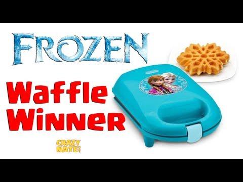 Disney Frozen Waffle Maker Winner Announced!