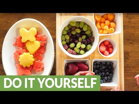 Make your own homemade edible arrangement (видео)