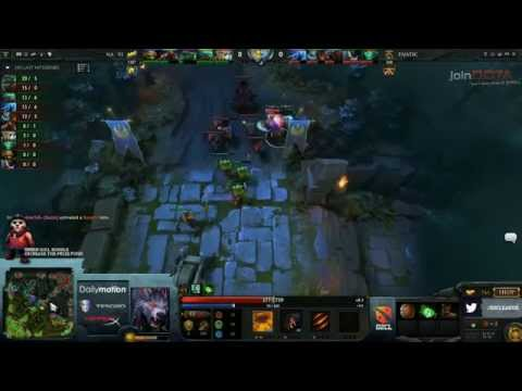 Fnatic vs Na`Vi - D2CL 4 playoffs - G1