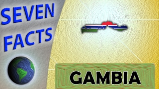 The Gambia is a small nation, completely surrounded by Senegal, that gets its name and shape from the River Gambia. It isn't the world's most popular country...