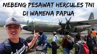 Video KIG 194  NEBENG PESAWAT HERCULES TNI DI WAMENA PAPUA! MP3, 3GP, MP4, WEBM, AVI, FLV Januari 2019