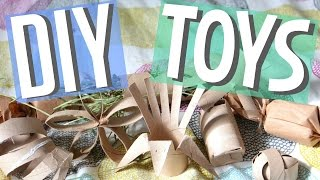 Download Lagu 8 Paper Tube Small Animal DIY Toys! Mp3