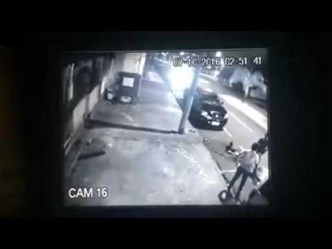 Votuporanga - (vídeo)Motorista Colide Violentamente Contra Poste De Energia