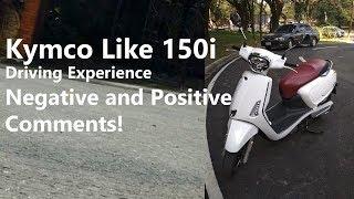 9. Kymco Like 150i - Riding Experience