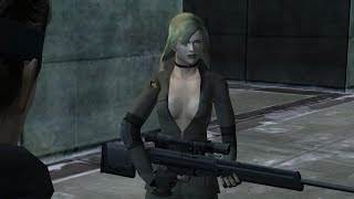 Metal Gear Solid Twin Snakes: Sniper Wolf Boss Fight (Part 1)