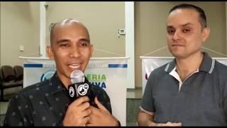 Entrevista com Pr Davi - Adma/RJ, falando sobre o evento da Parceria em Anchieta/RJ.