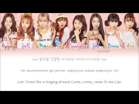 OH MY GIRL (오마이걸) - Liar Liar (Color Coded Han|Rom|Eng Lyrics) | By Yankat
