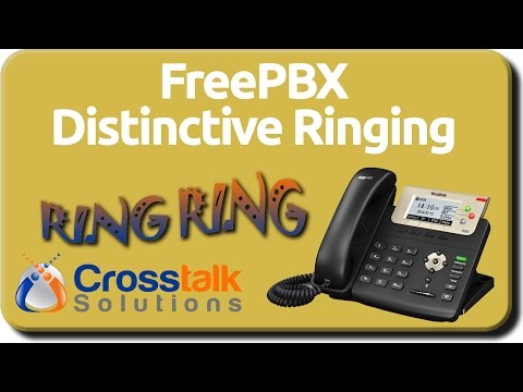 FreePBX Distinctive Ringing