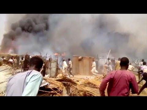 Νιγηρία: 14 νεκροί από φωτιά σε καταυλισμό προσφύγων