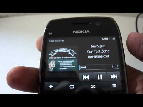 e6 - This is a short video I shot immediately after I successfully flashed my Nokia E6-00 and installed Symbian Belle.