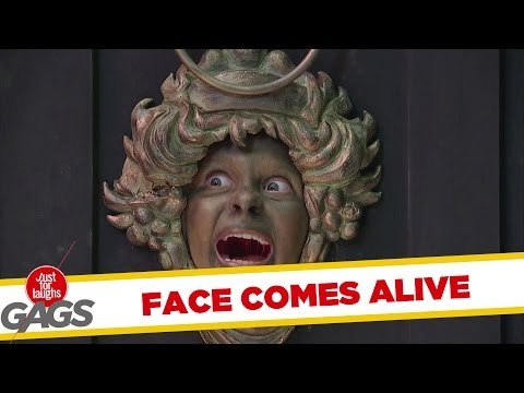 Face Door Knocker Comes to Life - Youtube