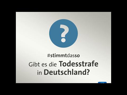 Gibt es die Todesstrafe in Deutschland?