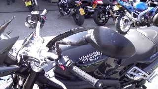 6. 2008 Triumph Speed Triple 1050