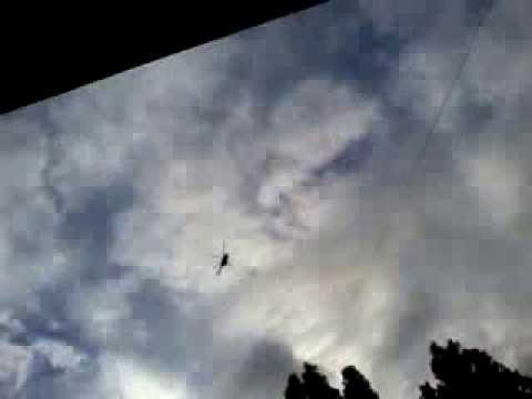 Вертолет летит не вращая Винтом!/The helicopter flies, without rotating the screw!