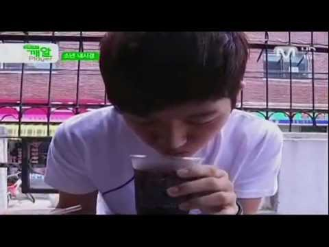 myungsoo - After L was pranked by Sungyeol, drinking a drink filled with vinegar, he decides to prank the members back this time by putting something into their drinks....