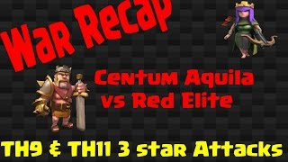 WAR Recap Centum Aquila - Red Elite