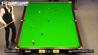 Snooker Welsh Open 2013 R1 - Judd Trump Vs Dominic Dale Full Match