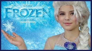Disney's FROZEN Elsa Makeup Tutorial | KITTIESMAMA - YouTube