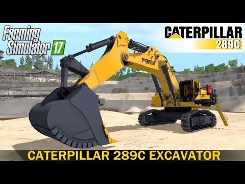 Cat 289C Excavator v1.0