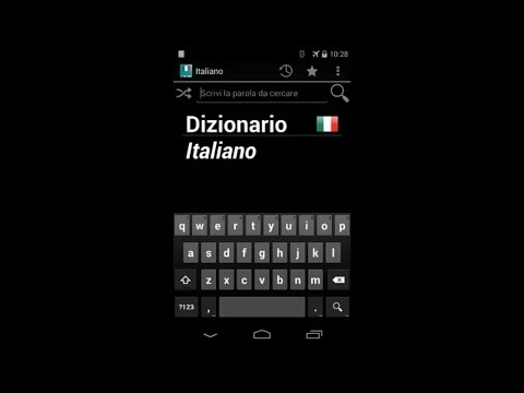 Video of Italian Dictionary - Offline