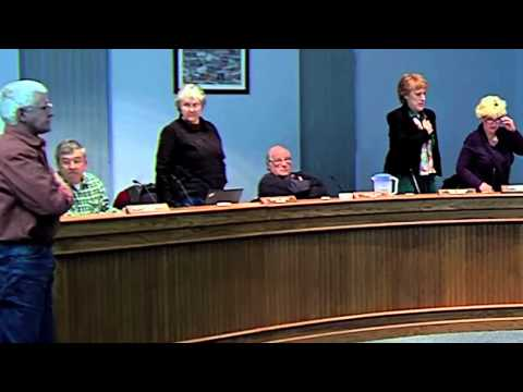 Two Council Members Caught on Video Refusing to Stand and Recite the Pledge of Allegiance
