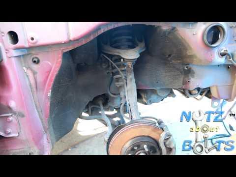 1994-2001 Acura Integra GSR Front suspension replacement