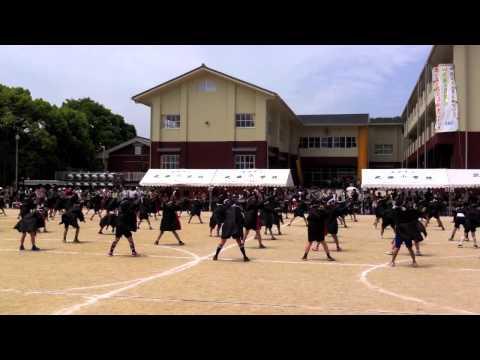ソーラン - 武雄市立小学校運動会2014