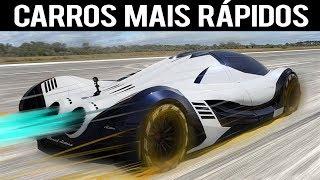 OS CARROS MAIS RÁPIDOS DO MUNDO !!