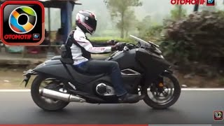 9. Honda NM4 Vultus, Test Ride in Indonesia, Bergaya ala pasukan Star Wars