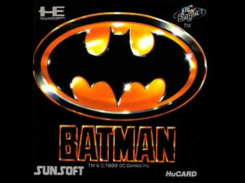 Batman : The Video Game PC Engine
