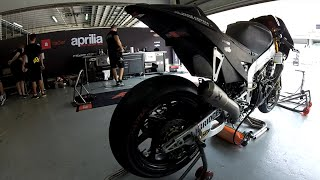 Aprilia MotoGp 2015 2nd Winter Test At Sepang