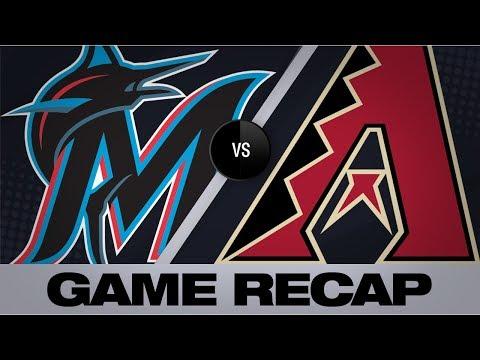 Video: Rojas' 6 RBIs carry Marlins over D-backs | Marlins-D-backs Game Highlights 9/17/19