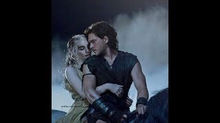 Jon and Daenerys in love...