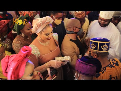IYALOJA GENERAL,FOLASADE TINUBU, MC OLUOMO,ACTRESS EHI OGBEBOR OTHERS AT OLUWO OF IWO 5TH CORONATION