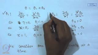 Mod-10 Lec-25 Solution Of Parabolic PDE : Separation Of Variables Method (Contd.)