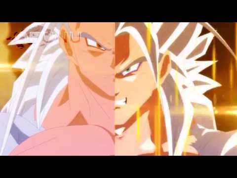Fused Evil Goku Vs Super Saiyan 5 Vegeta (dragon Ball Ex)