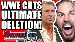 WWE CUT Ultimate Deletion! Vince McMahon Thoughts REVEALED! | WrestleTalk News Mar. 2018