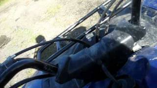9. 2006 yamaha grizzly 125