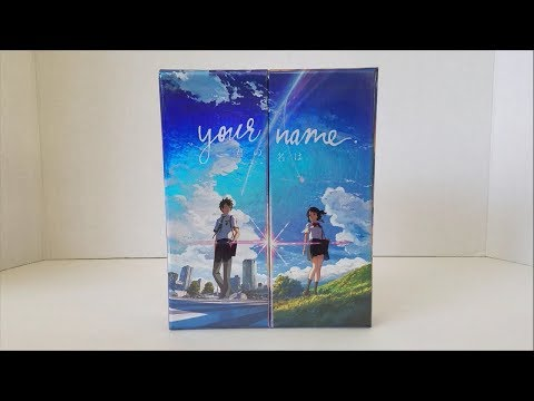 Your Name (Kimi No Na Wa) Limited Edition Blu-ray + DVD Unboxing